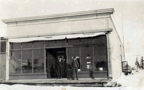 General store, Boy River Minnesota, 1920's