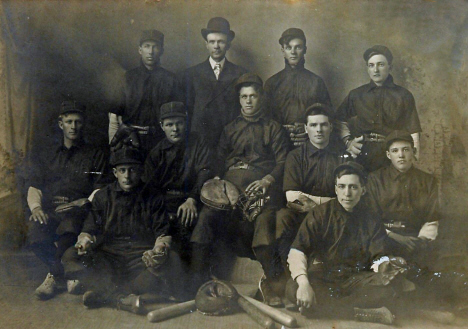 Baseball Team, Boyd Minnesota, 1907