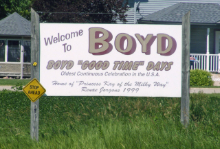 Welcome to Boyd Minnesota!