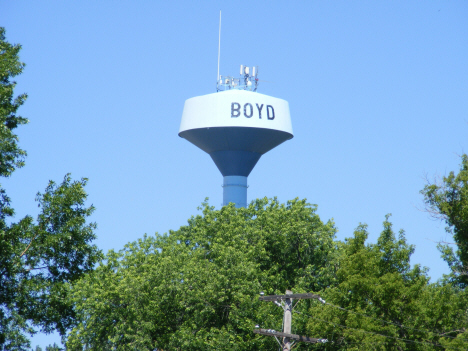 Water Tower, Boyd Minnesota, 2014