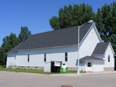 Community Hall, Boyd Minnesota, 2014