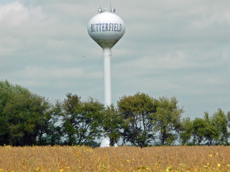 Water Tower, Butterfield Minnesota, 2017