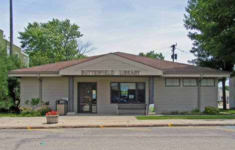 Butterfield Library, Butterfield Minnesota, 2014