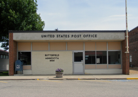 US Post Office, Butterfield Minnesota, 2014