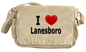 I Love Lanesboro Messenger Bag