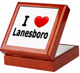 I Love Lanesboro Keepsake Box