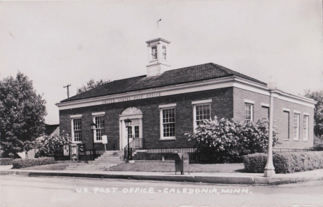 US Post Office, Caledonia Minnesota, 1950's
