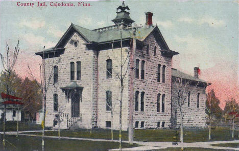 County Jail, Caledonia Minnesota, 1910