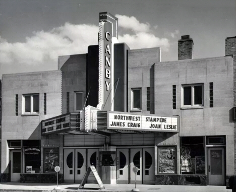 Canby Theatre, Canby Minnesota, 1940