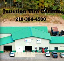 Junction Tire Service, Carlton Minnesota