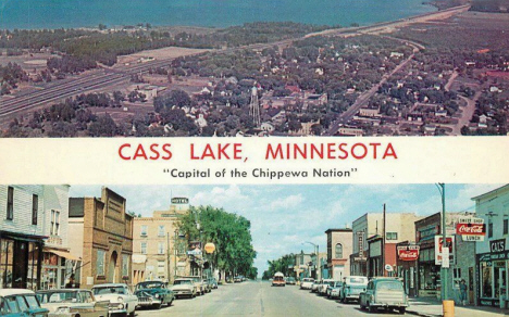 Multiple views, Cass Lake Minnesota, 1960's