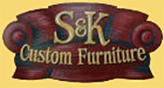 S & K Custom Furniture - Logo