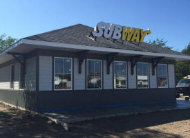 Subway Restaurant, Clara City Minnesota