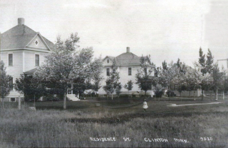 Residences, Clinton Minnesota, 1915