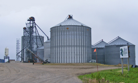 Grain elevators, Cobden Minnesota, 2011
