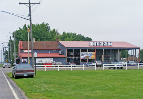 Ridin' High Saloon, Cobden Minnesota, 2011
