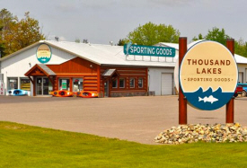 Thousand Lakes Sporting Goods, Cohasset Minnesota