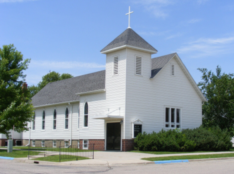 Former Church, Comfrey Minnesota, 2014