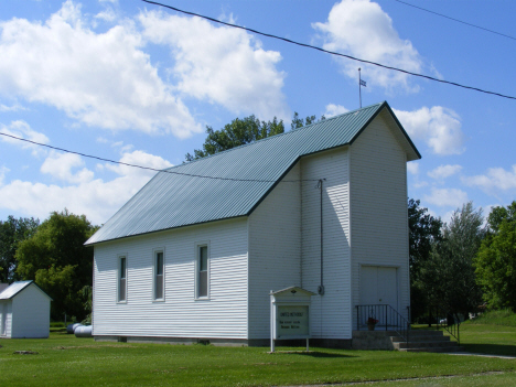 United Methodist Church, Correll Minnesota, 2014
