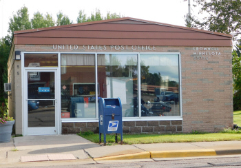 US Post Office, Cromwell Minnesota
