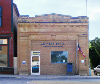 US Post Office, Currie Minnesota