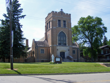 Immaculate Heart of Mary Catholic Church, Currie Minnesota, 2014
