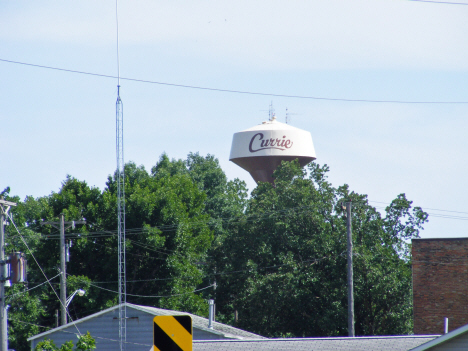 Water tower, Currie Minnesota, 2014