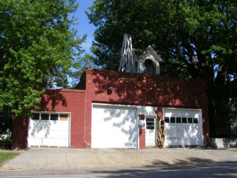 Old Fire Garage, Currie Minnesota, 2014