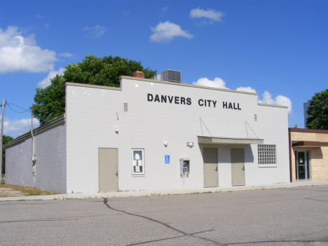 City Hall, Danvers Minnesota, 2014