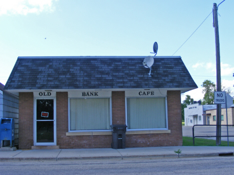 Former bank and cafe, Danvers Minnesota, 2014