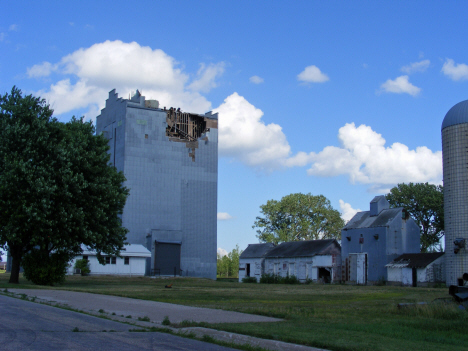 Damaged grain elevator, Danvers Minnesota, 2014