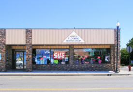Jim's Clothing and Sporting Goods, Dawson Minnesota