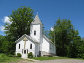Suomi Evangelical Lutheran Church, Deer River Minnesota