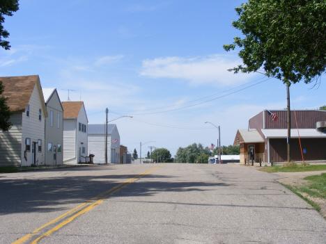 Street scene, Dovray Minnesota, 2014
