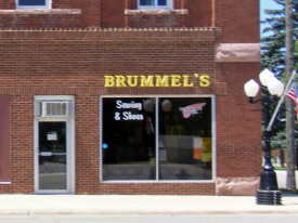 Brummel's Sewing and Shoes, Edgerton Minnesota