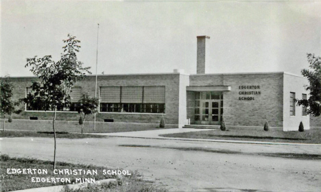 Edgerton Christian School, Edgerton Minnesota, 1952