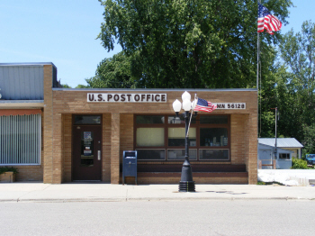 US Post Office, Edgerton Minnesota