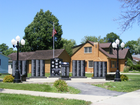 Veterans Memorial, Edgerton Minnesota, 2014