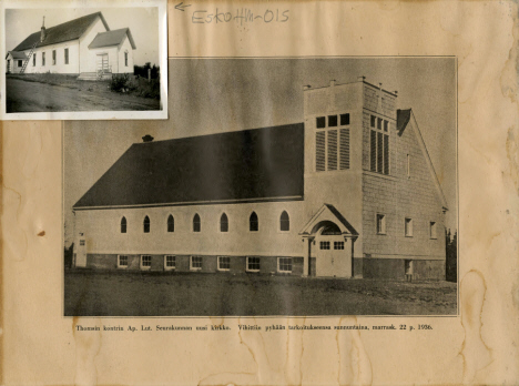 Apostolic Lutheran Church, Esko Minnesota, 1936