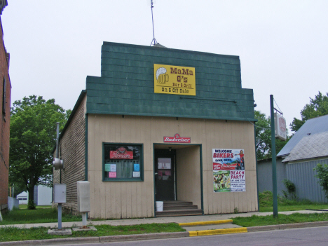 Mama G's Bar and Grill, Evan Minnesota, 2011