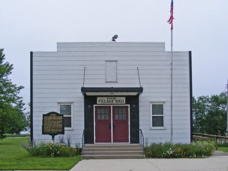 City Hall, Evan Minnesota, 2011