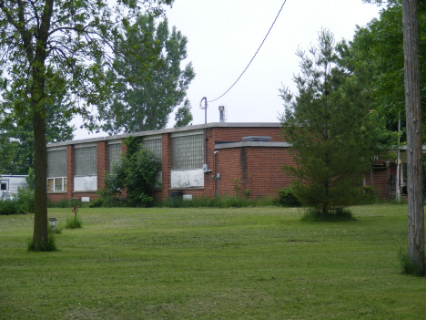 Former School, Evan Minnesota, 2011