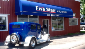 Five Starr Auto Repair, Foley Minnesota