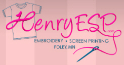 Henry Embroidery & Screen Printing, Foley Minnesota