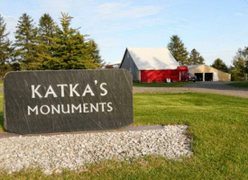 Katka's Monuments, Foley Minnesota