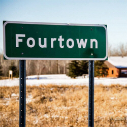 Fourtown Minnesota sign
