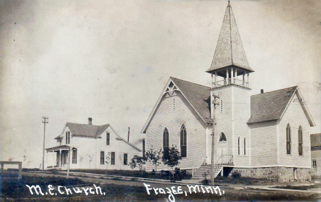 Methodist Episcopal Church, Frazee Minnesota, 1910's
