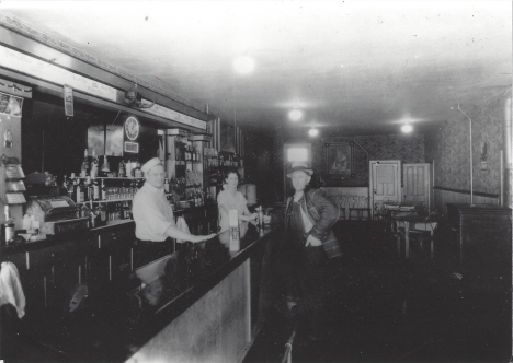 Interior, Silver Dollar Bar, Ghent Minnesota, 1935