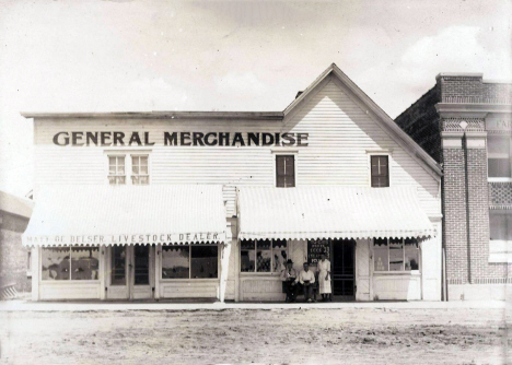 General Store, Ghent Minnesota, 1910's