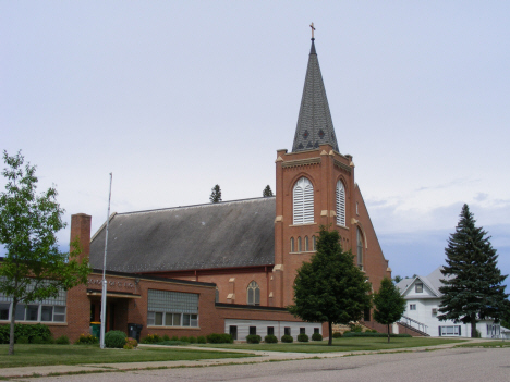 St. Eloi Catholic Church, Ghent Minnesota, 2011